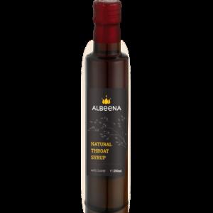 albeena natural throat syrup