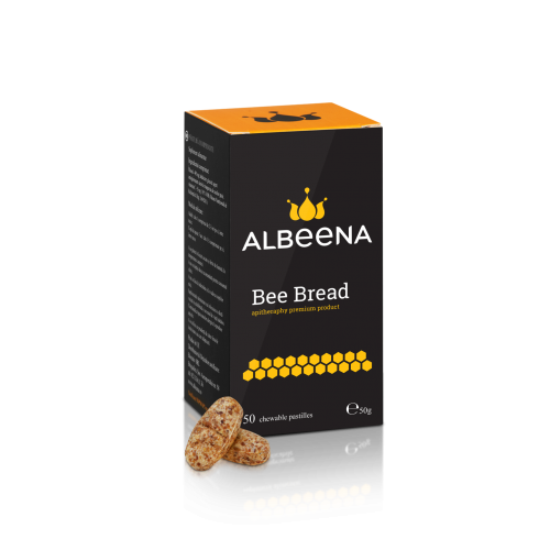 Bee bread with Vitamin C 50tablets AlBeeNa