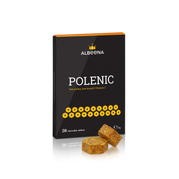 Polenic - bee pollen, bee bread & vitamin C 20 tablets